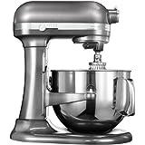 KitchenAid 5KSM7580XEMS - Robot de cocina, color plata