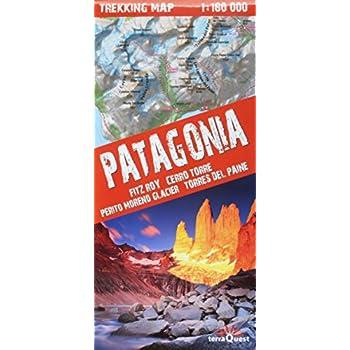 PATAGONIA-FITZ ROY/CERRO TORRE 1/160.000