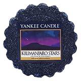Yankee Candle 22 g Kilimanjaro Estrellas Tarta de Mantequilla de Cera aromatica, Violeta, 5.9x5.7x1.7 cm