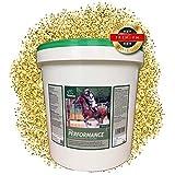 EMMA ♥ Aufbaufutter für Pferde I Pferdefutter mit B-Vitaminen Selen & Zink I Vitamin A,C,E mit Sojabohne I Muskelaufbau fürs Pferd, Skelett, Vitalität, Energie 6 Kg