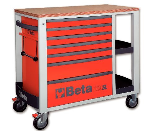 Beta 024002103 - C24Sl-R-Cajonera Móvil 7 Cajones Red
