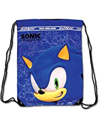 sonic the hedgehog sonic drawstring bag