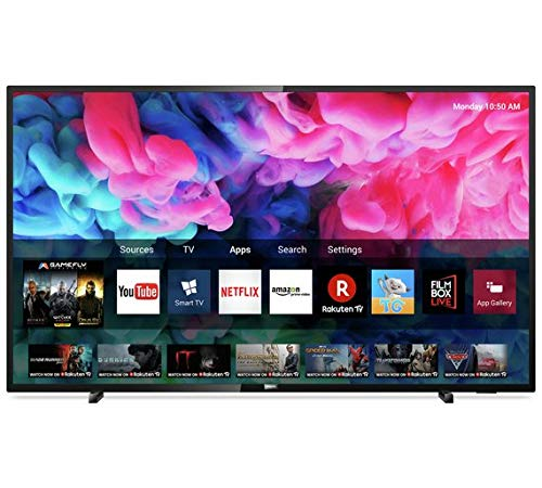 Philips 43 Inch 43PUS6503 Smart UHD LED TV with HDR (Freeview HD and USB recording and video playback)