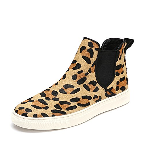 Une pédale l'automne et l'hiver chaussures hautes bottes bottes hautes bottes élastique Martin chaud anti-dérapant