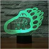 Die besten Verkauf von Tischleuchten - Heißer Verkauf 3D Led Bears Molding Visuelle 7 Bewertungen