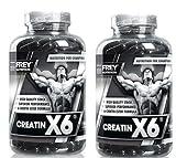 Frey Nutrition Creatin X6 2 x 250 Kapseln a 1000mg 2er Pack ( 500 g )