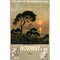 POSTER Norway – land of midnight sun
