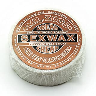 Sex Wax Herren Special Surf-Wakeboards Dream Cream - Bronze, Größe:ONESIZE