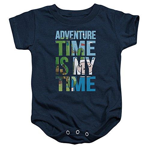 Adventure Time - - Kleinkind My Time Strampelanzug, 12 Months, Navy