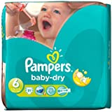 Pampers Baby Dry–Couches Taille 6pack Essential 31