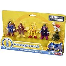 Imaginext - Set de 4 figuras Batman Héroes y villanos (Mattel CMX23)