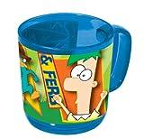 Phineas & Ferb 734405 Tasse in Acryl 9 cm (350 ml)