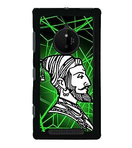 Shiva Ji Maharaj 2D Hard Polycarbonate Designer Back Case Cover for Nokia Lumia 830 :: Nokia Lumia 830 RM-984