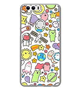PrintVisa Scientific Signs High Gloss Designer Back Case Cover for Huawei Honor 8