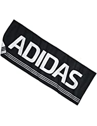 adidas Towel FO Toalla Talla XL = 70x 200cm, negro, XL (200 x 70 cm)