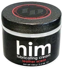 ID Lubricants Him Lubrifiant Crème Leather Scent 156 g