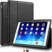 """KAVAJ 13279 9.7"""" Folio Negro funda para tablet - fundas para tablets (24,6 cm (9.7""""), Folio, Negro, Cuero, Apple, Apple iPad Air)"""