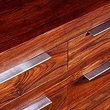 Shengtaieushop Sideboard aus massivem Sheesham 160x 35x 75cm