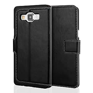 Yousave Accessories SA-EA04-Z708 Etui folio en PU Cuir pour Samsung Galaxy A5 Noir