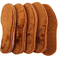 Wolle warme Einlegesohlen, Winter beheizte Schuh-Einlegesohlen, für Frauen -5 Paare, A3 preisvergleich bei billige-tabletten.eu