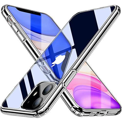 Blukar Cover per iPhone 11, Custodia Case Trasparente...