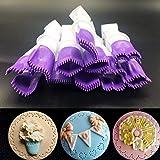Spitze Pinzette Clips, lebensmittelechtem Kunststoff Cookie Stempel Form Kuchen Cupcake Fondant Dekorieren Werkzeug