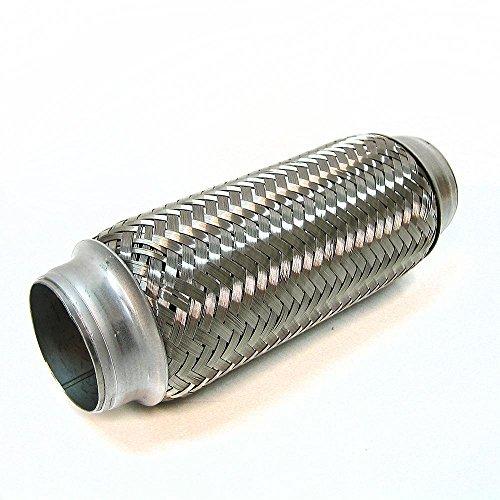 2-x-8-exhaust-flexi-pipe-flex-joint-200mm-x-50mm-flexipipe-tube-cat-repair