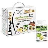 DIETA PROTEICA BAG PLUS + GARCINIA EXTRAFORTE ! Alimenti Proteici in BAG COMPLETO per 7 Giorni: Opzione 2 = 21 preparati PROTEICI (buste proteiche) senza Carboidrati e senza Zuccheri + 7 barrette proteiche da 40 grammi + 1 conf. GARCINIA EXTRAFORTE una dieta per