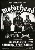 Motörhead ( Lemmy Kilmister ) - Black Magic HH 2015 - Konzertplakat, Konzertposter