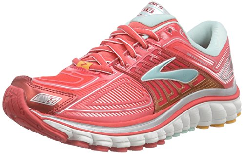 BrooksGlycerin 13 - Scarpe Running Donna, Rosso (Rouge (644)), 36
