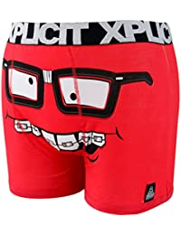 Xplicit Mens Funny Nickers Novelty Shorts Trunks Boxer