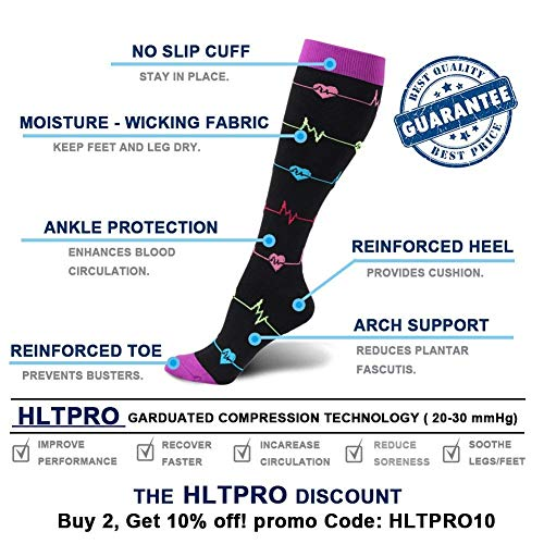Zoom IMG-3 calzini a compressione per donna