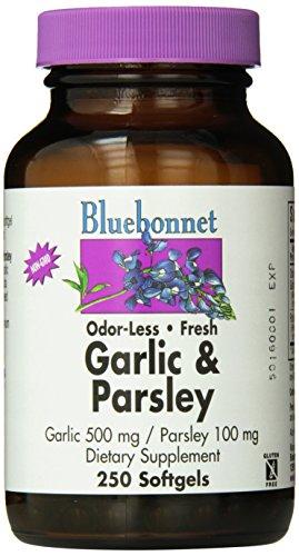 Bluebonnet Nutrition - aglio e prezzemolo - 250