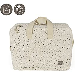 Walking Mum 35848 - Maleta estrellas, color beige positive