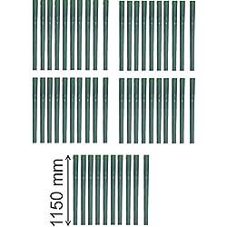 50 x Baum Manschette 115 cm lang als Wild Fegeschutz und Verbißschutz Schutz in tranparent Spiralen