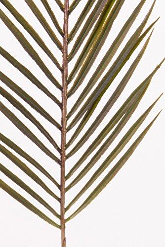 artplants Künstlicher Areca Palmwedel MELMAN, 37 Blätter, grün, 70 cm – Künstliche Wedel/Deko Blätter