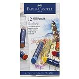 Faber-Castell 127012 - Ölpastellkreide Studio Quality, 12er Etui