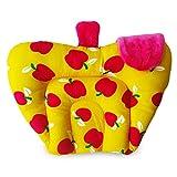 #4: Kidzvilla Mustard Seeds (Rai) Baby Pillow - Apple Shape (Cotton) - Yellow