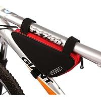 Roswheel Bici MTB Bicicletta Ciclismo Bike Pannier Frontal Sacchetto Traingle Borsetta Borsa Custodia Caso Case Bag Pouch CS037 - Biciclette Pannier