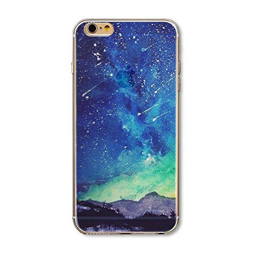 Coque iPhone 7 Housse étui-Case Transparent Liquid Crystal en TPU Silicone Clair,Protection Ultra Mince Premium,Coque Prime pour iPhone 7-Paysage-style 7 19