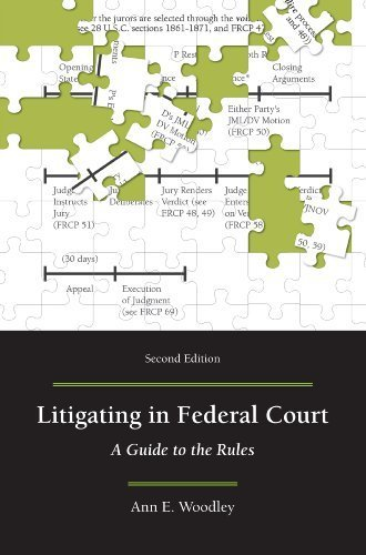 Litigating in Federal Court: A Guide to the Rules, Second Edition by Ann E. Woodley (2014-04-28)
