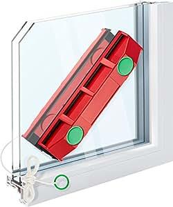 Tyroler The Glider D3 Lave-vitre magnétique pour fenêtres à double vitrage de 20 à 28 mm d'épaisseur
