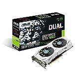 Asus Dual-GTX1060-3G Gaming Nvidia GeForce Grafikkarte (PCIe 3.0, 3GB DDR5...