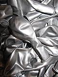 50 Luftballons Metallic Ø 28 cm Farbe frei wählbar Ballons Helium Luftballon (Silber)