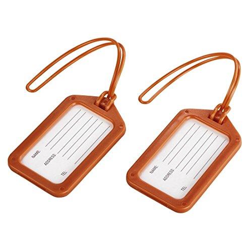 Hama Luggage Tag Set of 2 - Orange