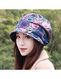 HAPPY-Cap Cappello Donna Primavera e Estate Cappello da Sole Cappello da  Pescatore Ciclismo Cappello daf688fc5668