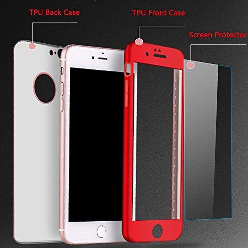 Surakey Cover iPhone X Integrale Silicone Morbido Protettiva