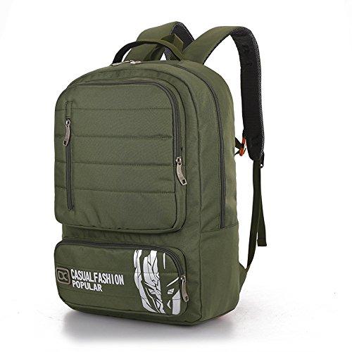 Computer studente di all'aperto alpinismo zaino moda borse di massa , army green army green