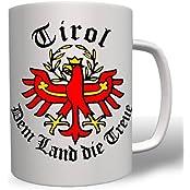 Tirol Alpen Berge dem Land die treue Wappen Abzeichen Emblem -Tasse Kaffee Becher #274