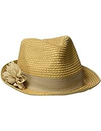 s.Oliver Damen Panamahut 39704922370, Braun (Brown 8315), 55 cm (Herstellergröße: 56)